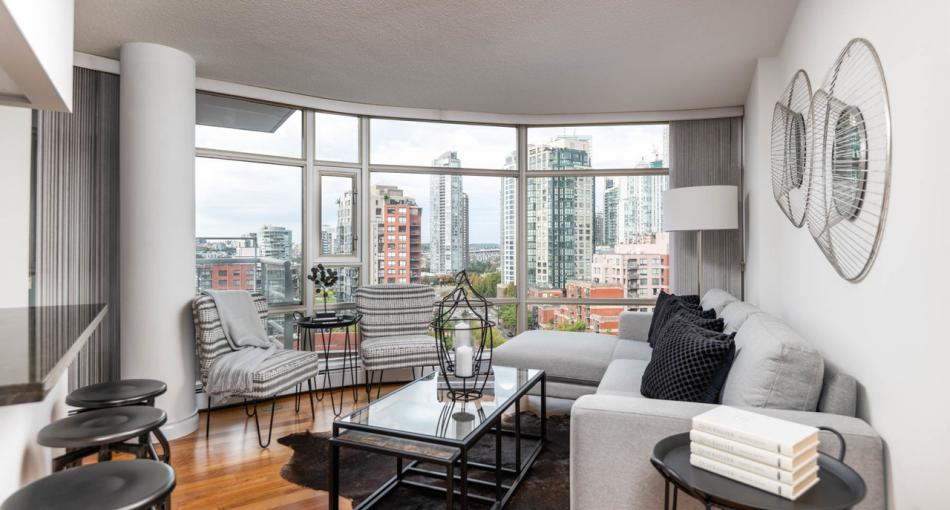 1509 - 189 Davie Street, Yaletown, Vancouver West